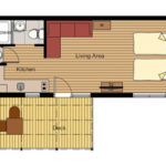 Lakeside Twin Floor Plan