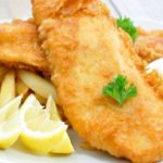 Fish and Chips at The Terrace Restaurant