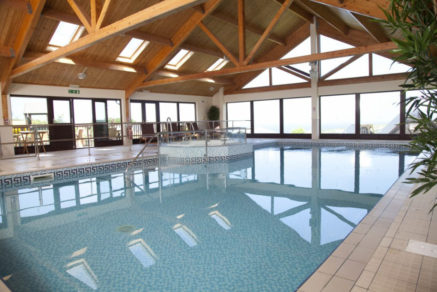 Swimming Pool Leisure Facilities at Gwel an Mor Resort